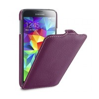 Кожаный чехол Melkco Leather Case Purple LC для Samsung G900F Galaxy S5