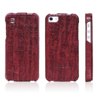 Кожаный чехол HOCO Knight Red для Apple iPhone 5/5S/5SE