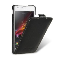 Кожаный чехол Melkco Leather Case Black LC для Sony Xperia SP M35i