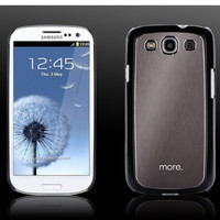 Пластиковый чехол More Blaze Collection Black/Titanium для Samsung i9300 Galaxy S3