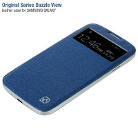 Крышка-книжка HOCO Original Series Duzzle View Blue для Samsung i9190 Galaxy S4 mini
