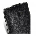 Кожаный чехол Melkco Leather Case Black LC для HTC Windows Phone 8X(#4)