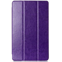 Полиуретановый чехол Book Cover Case Purple для Sony Xperia Tablet Z3 Compact