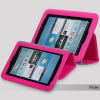 Кожаный чехол Yoobao Executive Leather Case Rose для Samsung Galaxy Tab 2 7.0 P3110