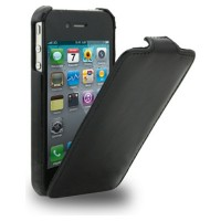 Кожаный чехол Melkco Leather Case Vintage Black для Apple iPhone 4/4S