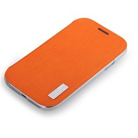 Чехол книга ROCK Elegant Flip Case Orange для Samsung i9082 Galaxy Grand Duos