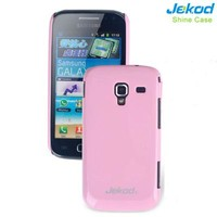 Пластиковый чехол Jekod Shine Case Pink для Samsung i8160 Galaxy Ace 2