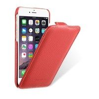 Кожаный чехол Melkco Leather Case Red LC для Apple iPhone 6/6S