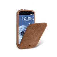 Кожаный чехол книга Melkco Leather Case Vintage Brown для Samsung i9300 Galaxy S3