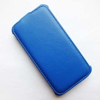 Кожаный чехол Armor Case Dark Blue для Explay Vega