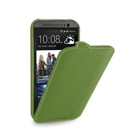 Кожаный чехол Melkco Leather Case Green LC для HTC One M8