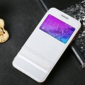 Полиуретановый чехол Usams Merry Series White для Samsung G850 Galaxy Alpha(#2)