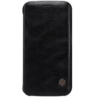 Кожаный чехол Nillkin Qin Leather Case Black для Samsung G925F Galaxy S6 Edge