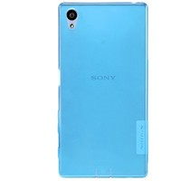 Силиконовый чехол Nillkin Nature TPU Case Blue для Sony Xperia Z5