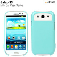 Пластиковый чехол Zenus Walnutt milk bar Series Mint Blue для Samsung i9300 Galaxy S3