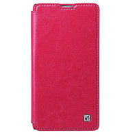 Кожаный чехол HOCO Crystal leather Case Pink для Sony Xperia Z1 L39h