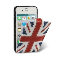 Кожаный чехол Melkco Premium Case The Nations Britain для Apple iPhone 4/4S