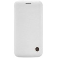 Кожаный чехол Nillkin Qin Leather Case White для Samsung G925F Galaxy S6 Edge(#1)