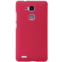 Пластиковый чехол Nillkin Super Frosted Shield Bright Red  для Huawei Ascend Mate7