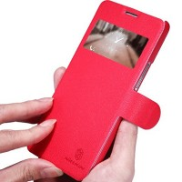 Полиуретановый чехол Nillkin Fresh Series Red для Huawei Ascend G750 Honor 3X