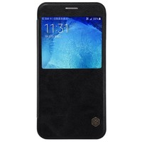 Кожаный чехол Nillkin Qin Leather Case Black для Samsung Galaxy A8