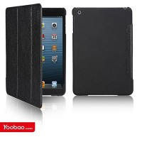 Кожаный чехол Yoobao iSlim Leather Case Black для Apple iPad mini