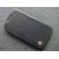 Кожаный чехол Rada Flip Cover Black для Samsung N7100 Galaxy Note 2