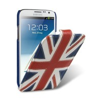 Кожаный чехол Melkco Premium Case The Nations Britain для Samsung i9500 Galaxy S4