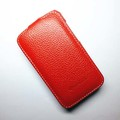 Кожаный чехол Melkco Leather Case Red LC для HTC Desire 200(#1)