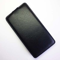 Чехол книга Armor Case Black для Huawei Ascend G750 Honor 3X