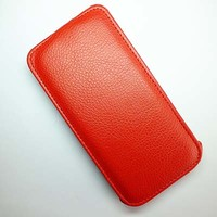 Кожаный чехол Armor Case Red для Lenovo IdeaPhone S960