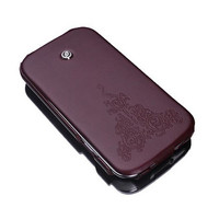 Кожаный чехол книга SGP Gariz Leather Case Brown для Samsung i9300 Galaxy S3