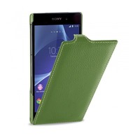 Кожаный чехол Melkco Leather Case Green LC для Sony Xperia Z2 L50t