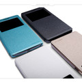 Полиуретановый чехол Nillkin Sparkle Leather Case Black для OPPO Find 7 X9007(#2)
