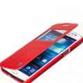 Кожаный чехол HOCO Crystal leather Case Red для Samsung SM-G7102 Galaxy Grand 2 Duos(#4)
