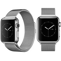 Ремешок металлический iWatch Milanese Loop Silver для Apple Watch 42mm Series 1\2\3