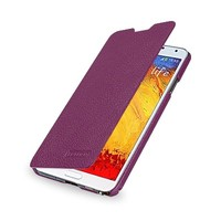 Кожаный чехол Sipo Leather Case Book Type Purple LC для Samsung N9000 Galaxy Note 3
