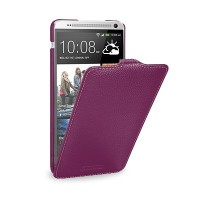 Кожаный чехол Melkco Leather Case Purple LC для HTC One Max/T6