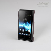 Пластиковый чехол Jekod Cool Case Brown для Sony Xperia E Dual C1605
