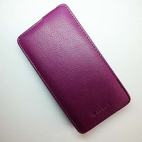 Чехол книга Armor Case Purple для Lenovo A766