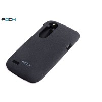 Пластиковый чехол ROCK Quicksand Series Black для HTC Desire X