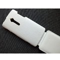 Кожаный чехол Melkco Leather Case White LC для Sony Xperia Ion LT28h(#3)