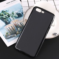 Силиконовый бампер Becolor TPU Case 1mm Black Mate для OnePlus OnePlus 5 (Five)
