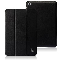 Кожаный чехол Jisoncase Executive Smart Cover Black для Apple iPad mini 3