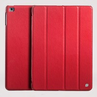 Кожаный чехол HOCO Duke leather case Red для Apple iPad Air