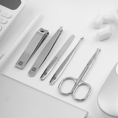 Маникюрный набор Xiaomi Huo Hou Stainless Steel Nail Clipper Set(3)