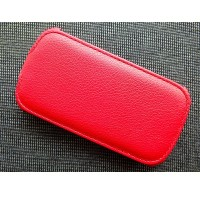 Кожаный чехол Armor Case Red для Samsung i8190 Galaxy S3 mini