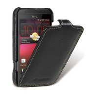 Кожаный чехол Melkco Leather Case Black LC для HTC Desire 200