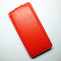 Кожаный чехол Armor Case Red для Alcatel One Touch Idol X 6040(#1)