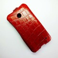 Кожаный чехол Abilita Leather Case Red Crocodile для Nokia Lumia 630(#3)